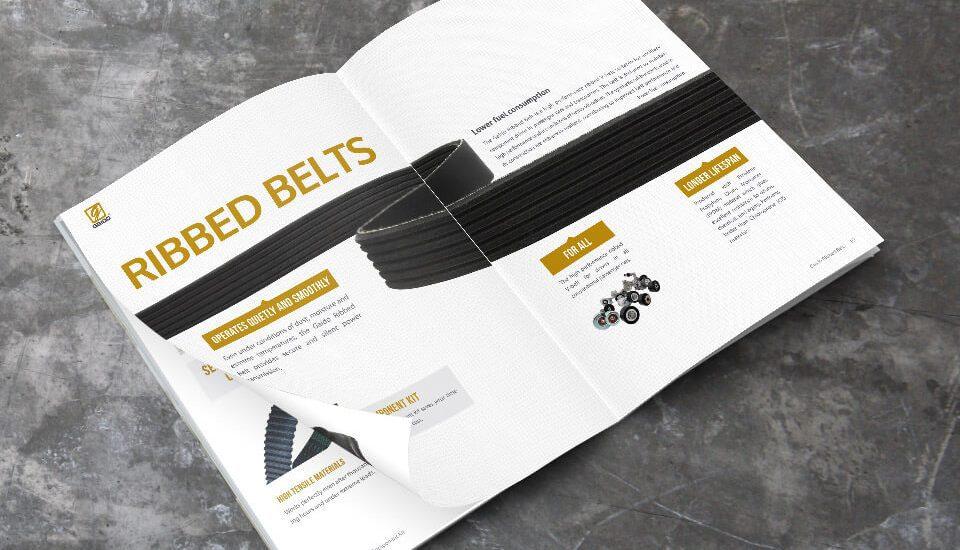 spare part company profile design for gaido malaysia