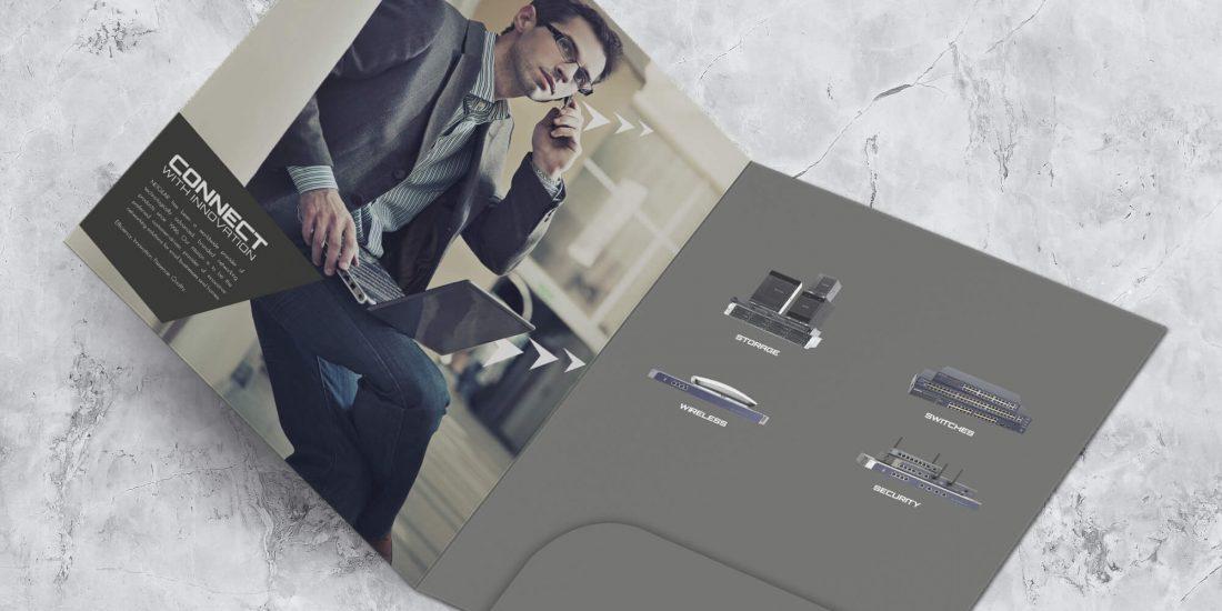 Netgear folder design