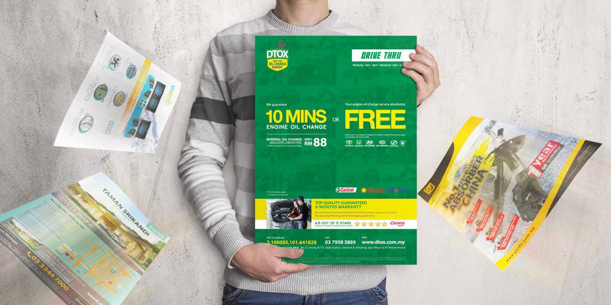 Malaysia poster design service